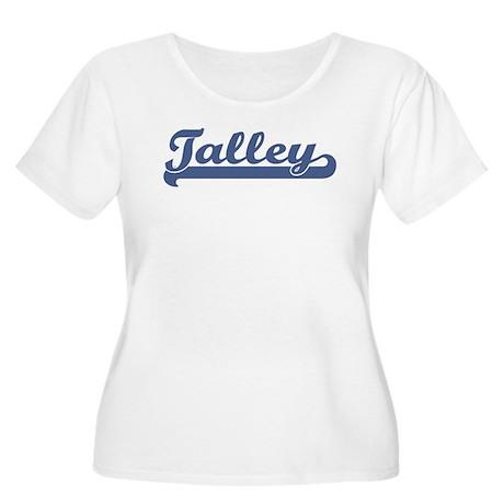 Talley (sport-blue) Women's Plus Size Scoop Neck T