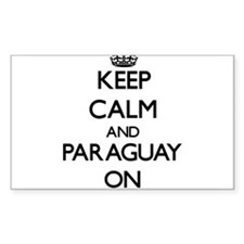Keep calm and Paraguay ON Decal