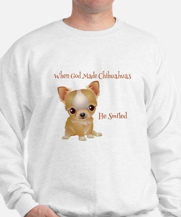 When God Made Chihuahuas Sweater