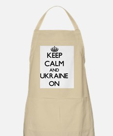Keep calm and Ukraine ON Apron
