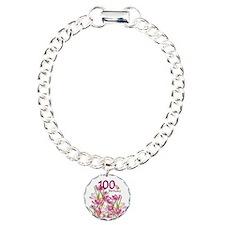 Cute Hundredth Charm Bracelet, One Charm