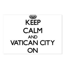 Keep calm and Vatican Cit Postcards (Package of 8)