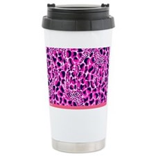 Unique Leopard Travel Mug