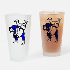 Judo Drinking Glass