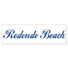 Redondo Beach (cursive) Bumper Bumper Sticker