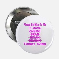 """Funny Funny cancer 2.25"""" Button"""