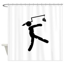 Cheese Shower Curtain