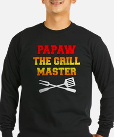 Papaw The Grill Master Long Sleeve T-Shirt