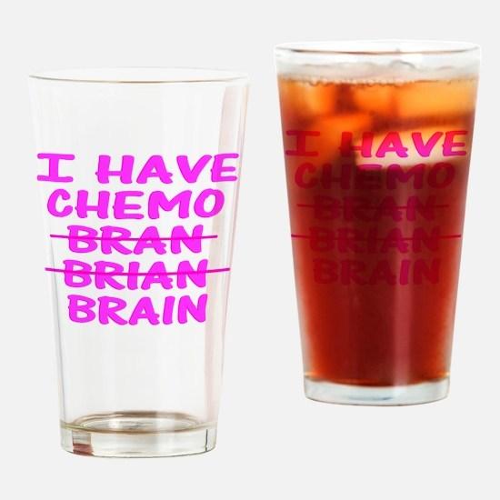 CHEMO Bran Brian Brain Drinking Glass