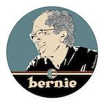 Bernie Sanders Round Car Magnet