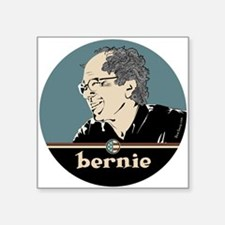 "Bernie Sanders Square Sticker 3"" x 3"""