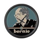 Bernie Sanders Hair Large Wall Clock