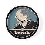 Bernie Sanders Hair Wall Clock