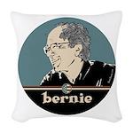 Bernie Sanders Woven Throw Pillow