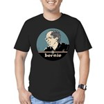 Bernie Sanders Men's Fitted T-Shirt (dark)