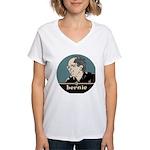 Bernie Sanders Women's V-Neck T-Shirt