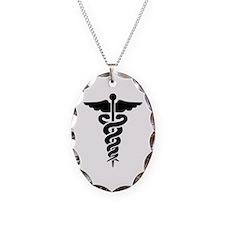 Medical Symbol Caduceus Necklace