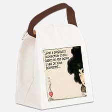 The Books on Your Bookshelf Canvas Lunch Bag