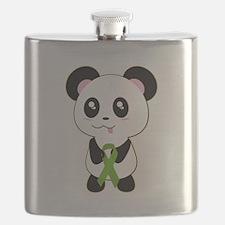Panda w/Kidney Ribbon Flask