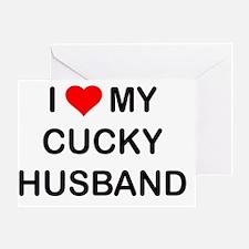Cute Cuckold Greeting Card