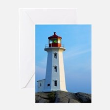 Peggy's Point Lighthouse Greeting Cards
