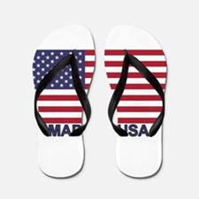 MADE IN USA (w/flag) Flip Flops