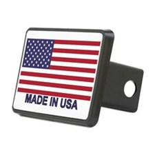 MADE IN USA (w/flag) Hitch Cover
