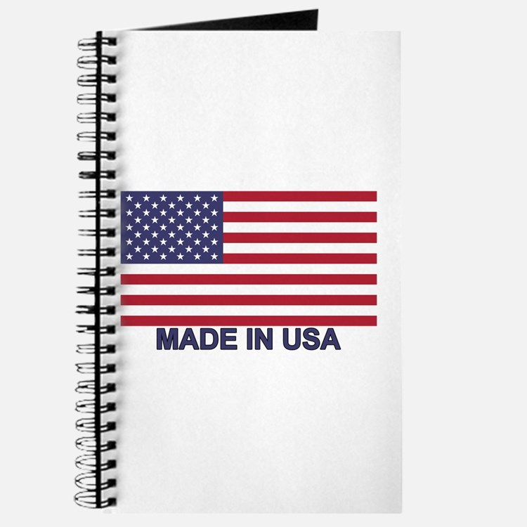 MADE IN USA (w/flag) Journal