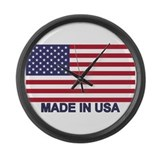 American made Giant Clocks