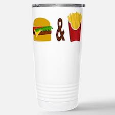 Burger and Fries Travel Mug