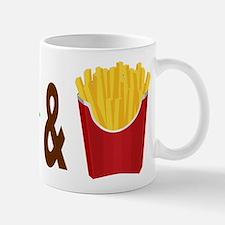 Burger and Fries Mugs