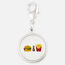 Burger and Fries Charms