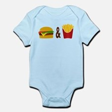 Burger and Fries Body Suit