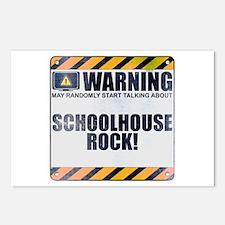 Warning: Schoolhouse Rock! Postcards (Package of 8