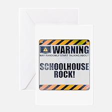 Warning: Schoolhouse Rock! Greeting Card