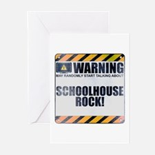 Warning: Schoolhouse Rock! Greeting Cards (20 pack