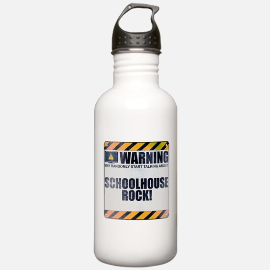 Warning: Schoolhouse Rock! Sports Water Bottle