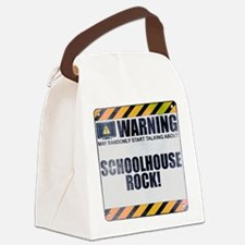 Warning: Schoolhouse Rock! Canvas Lunch Bag
