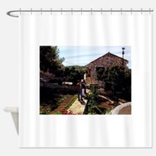 Croatian Village Shower Curtain