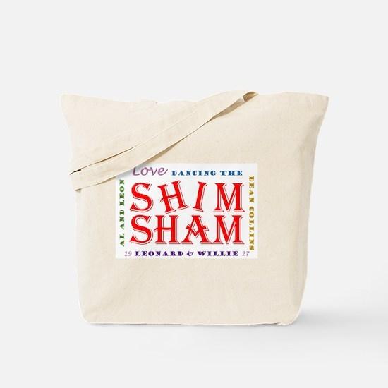 Shim Sham retro color Tote Bag