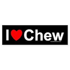 Chew Bumper Sticker