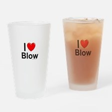 Blow Drinking Glass