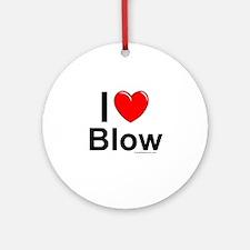 Blow Ornament (Round)