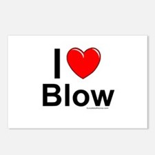 Blow Postcards (Package of 8)