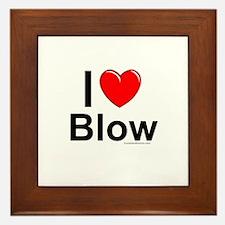 Blow Framed Tile
