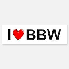 BBW Car Car Sticker