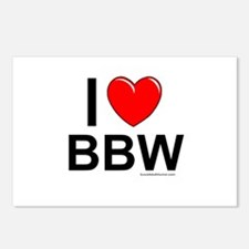 BBW Postcards (Package of 8)