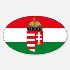 Cute Hungarian Sticker (Oval)