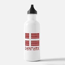 Chevron Danmark Water Bottle