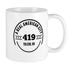 A Real American City Toledo OH Mugs